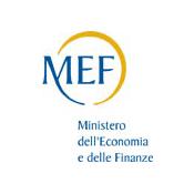 Logo MEF - Ministero dell'Economia e delle Finanze